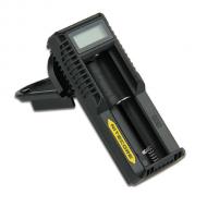 Зарядное устройство Nitecore UM10 - Универсальное одноканальное зарядное устройство нового поколения, способное заряжать все популярные типоразмеры как Li-Ion, так и IMR аккумуляторов, с автоматическим определением типа и ёмкости аккумулятора, интеллектуальной системой заряда и возможностью активации аккумуляторов с нулевым зарядом – 0 V.   Зарядное устройство оснащено следующими функциями и особенностями:  Поддерживаемые типоразмеры аккумуляторов: 18650, 18490, 18350, 17670, 17500, 16340, 14500, 10440.  LCD дисплей, который отображает процесс зарядки в режиме реального времени с точностью в 1%.  Зашита от перезаряда, переплюсовки и перегрева.  USB выход, который позволяет одновременно заряжать аккумулятор и внешние устройства. Во время зарядки возможна передача данных между USB устройством и компьютером.  Автоматический подбор оптимального режима и тока зарядки (CC/CV).  На корпусе имеется место для намотки кабеля.
