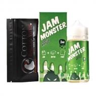 Жидкость Jam Monster 100 мл. ''Apple'' 3 мг./мл.