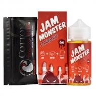 Жидкость Jam Monster 100 мл. ''Strawberry'' 3 мг./мл.