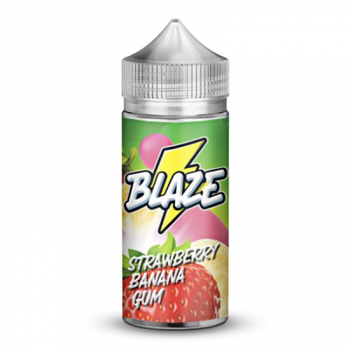 Жидкость BLAZE ''Strawberry Banana Gum'' 100 мл.