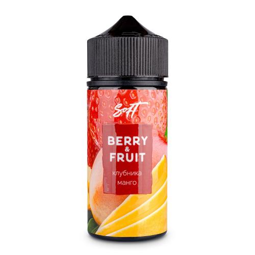 Жидкость Berry&Fruit - Клубника и манго 100мл/0мг
