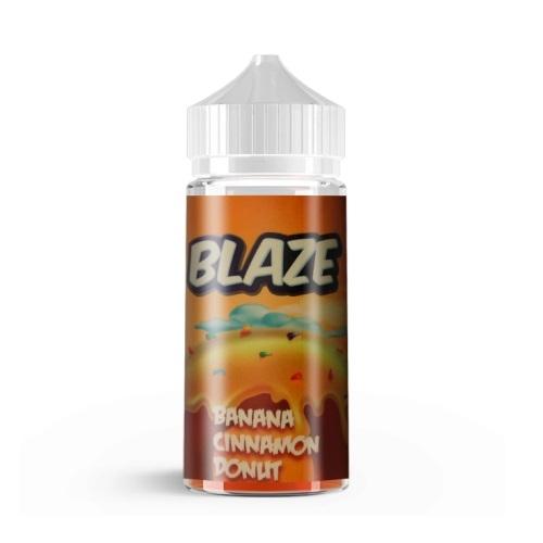 Жидкость BLAZE - Banana Cinnamon Donut 100мл/3мг