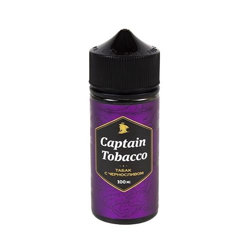 Жидкость Captain Tobacco - Табак с черносливом 100мл/0-3мг