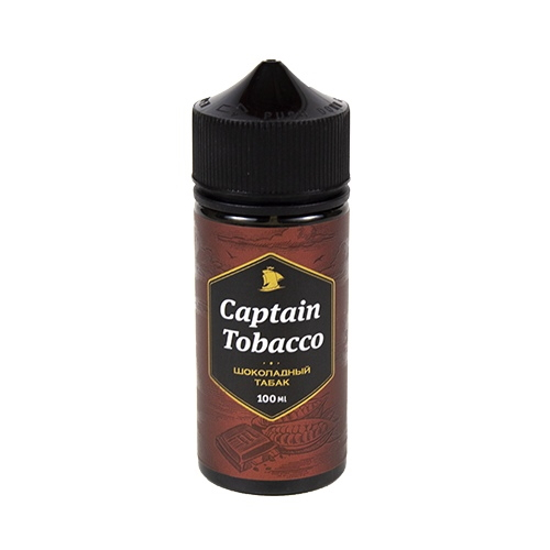 Жидкость Captain Tobacco - Шоколадный табак 100мл/0мг