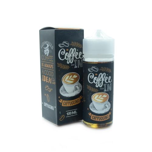 Жидкость Coffee-in - Cappuccino 120мл/3мг