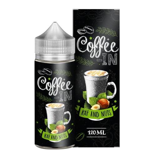 Жидкость Coffee-in - Raf&Nuts 120мл/3мг