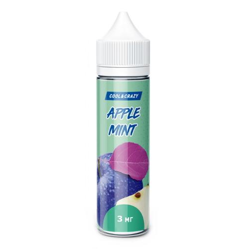 Жидкость Cool&Crazy - Apple Mint 60мл/3мг