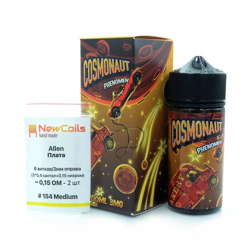 Жидкость Cosmonaut - Phenomen 100мл/3мг