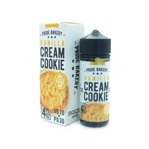 Жидкость Cream Cookie - Vanilla 120мл/0мг