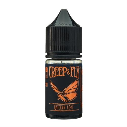Жидкость Creep&Fly POD - Датский кофе 30мл/0мг