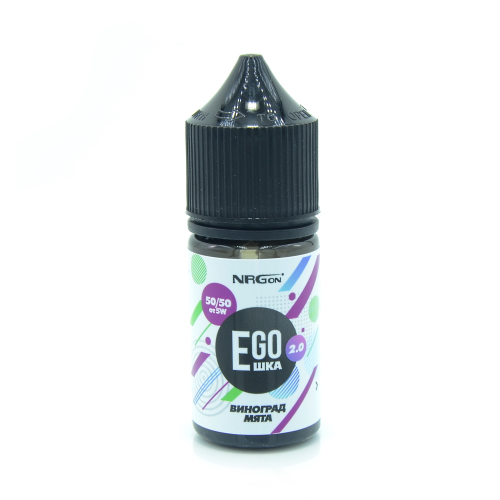 Жидкость EGOшка 2.0 POD - Виноград и Мята 30мл/12мг