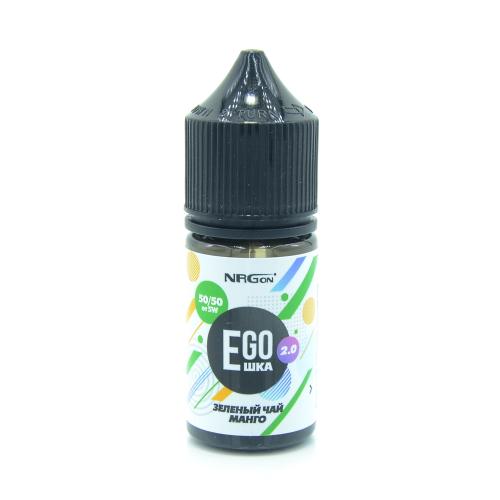 Жидкость EGOшка 2.0 POD - Зеленый чай и Манго 30мл/12мг