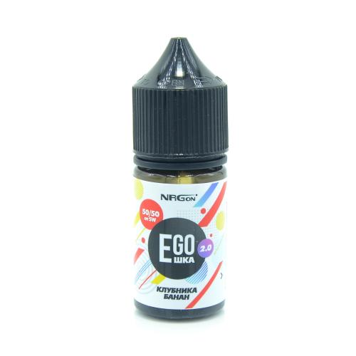 Жидкость EGOшка 2.0 POD - Клубника и Банан 30мл/12мг