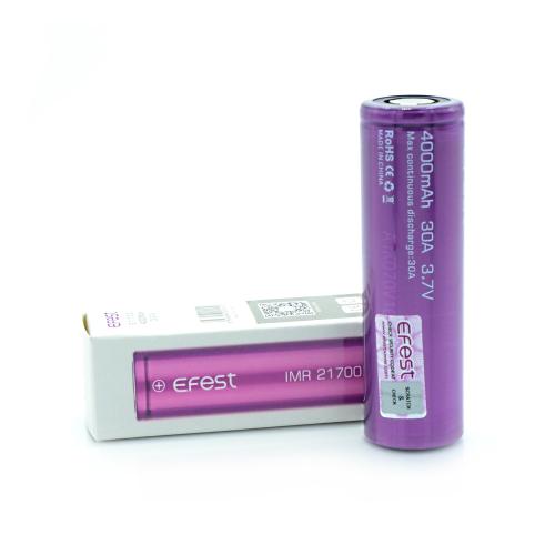 Аккумуляторная батарея Efest 21700 Li-ion 4000 mAh 30A