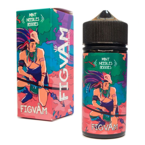 Жидкость Figvam - Mint Needles Berries 100мл/3мг