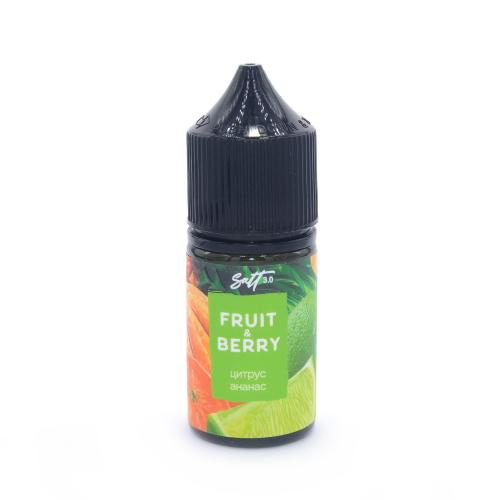 Жидкость Fruit&Berry POD - Цитрус и Ананас 30мл/0мг