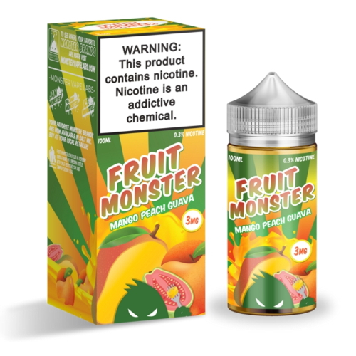 Жидкость Fruit Monster - Mango Peach Guava 100мл/3мг