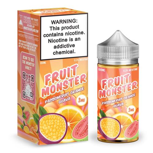 Жидкость Fruit Monster - P.O.G. 100мл/3мг