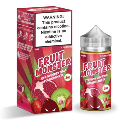 Жидкость Fruit Monster - Strawberry Kiwi Pomengranate 100мл/3мг