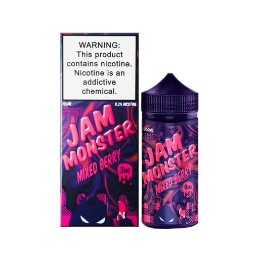 Жидкость Jam Monster - Mixed Berry 100мл/3мг