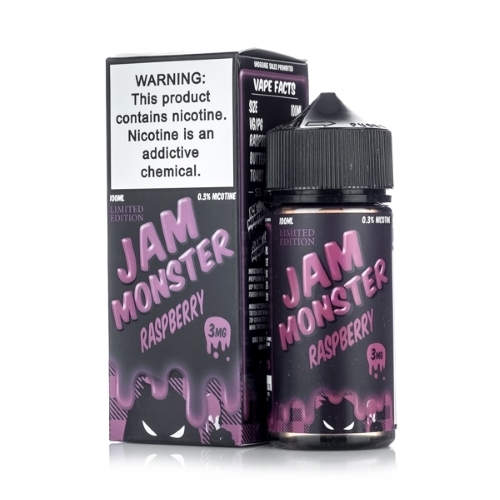 Жидкость Jam Monster - Raspberry 100мл/3мг