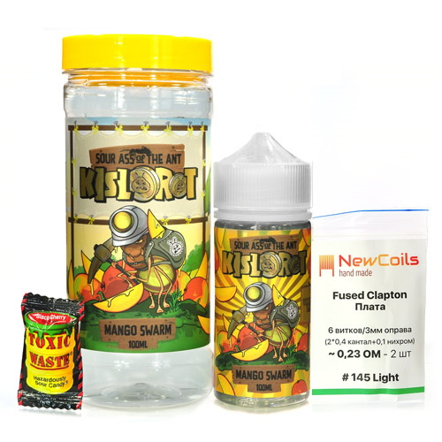Жидкость Kislorot - Mango Swarm 100мл/3мг