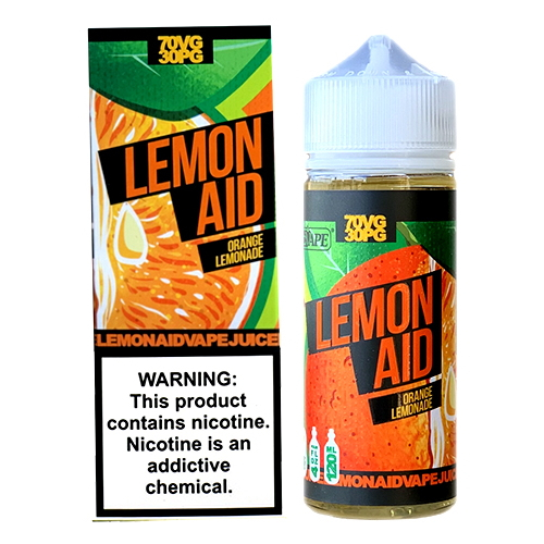 Жидкость Lemon Aid - Orange 120мл/3мг
