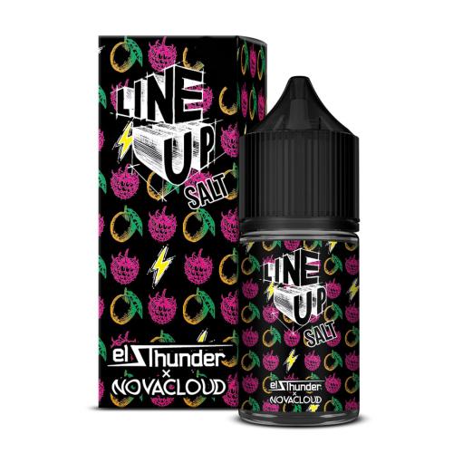 Жидкость Line Up Salt - El Thunder x Novacloud 30мл/20мг