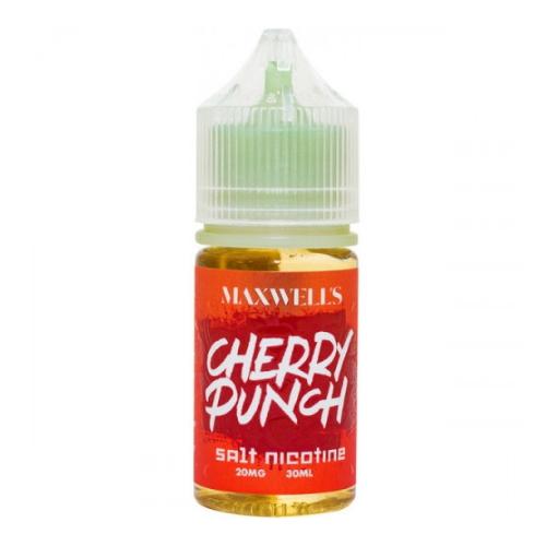 Жидкость Maxwells Salt - Cherry Punch 30мл/20мг