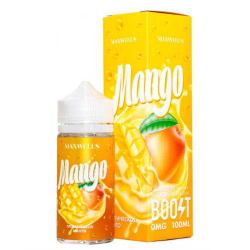 Жидкость Maxwells 100 мл. ''Mango'' 0 мг./мл.