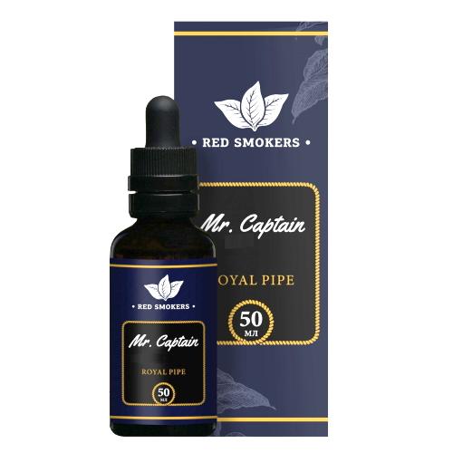 Жидкость Mr. Captain Black - Royal Pipe 50мл/6мг