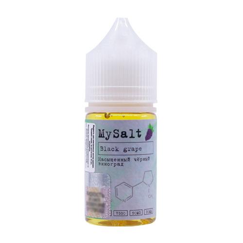 Жидкость MySalt - Black Grape 30мл/20мг