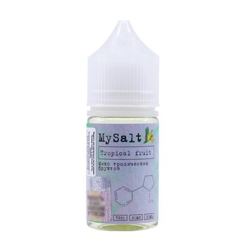Жидкость MySalt - Tropical Fruit 30мл/20мг