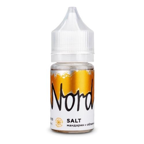 Жидкость Nord Salt 30 мл. Мандарин и Облепиха 24 мг./мл.