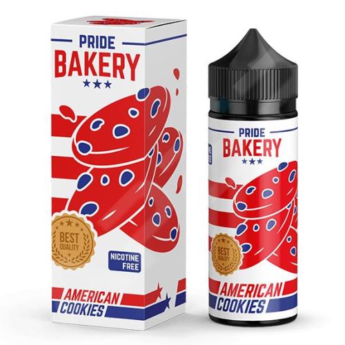 Жидкость Pride Bakery - American Cookies 120мл/0мг