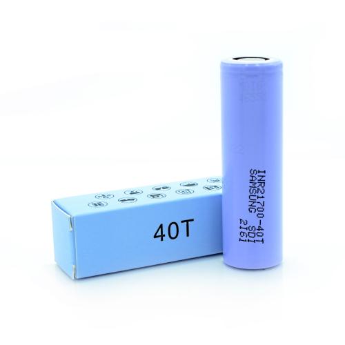 Аккумуляторная батарея Samsung INR21700-40T Li-Ion 4000mAh 25A+