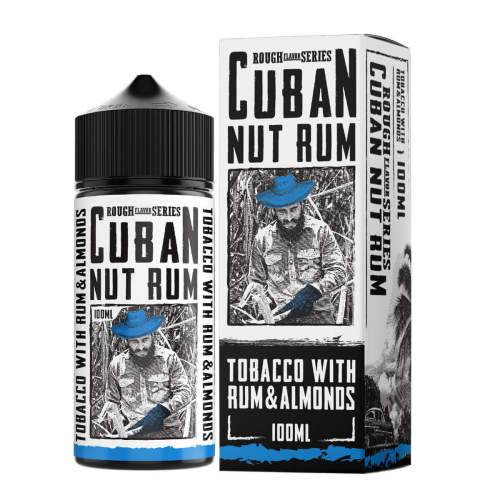 Жидкость Rough Flavor Series - Cuban Nut Rum 100мл/6мг
