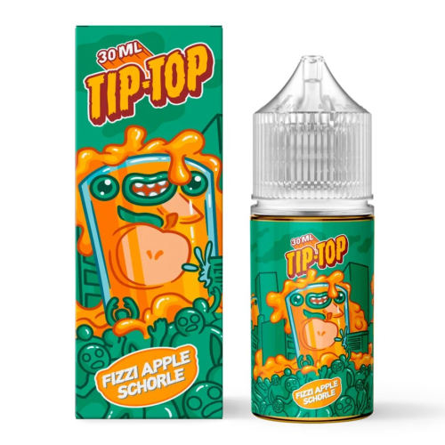 Жидкость TIP-TOP Salt - Fizzi Apple Schorle 30мл/20мг