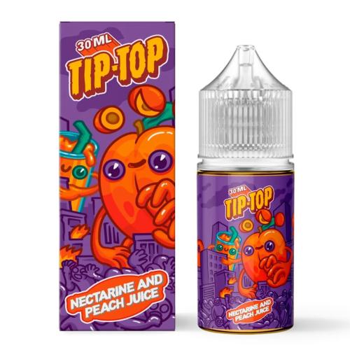 Жидкость TIP-TOP Salt - Nectarine & Peach Juice 30мл/20мг