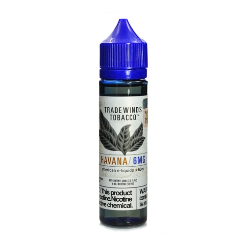 Жидкость Tradewinds Tobacco - Havana 60мл/6мг