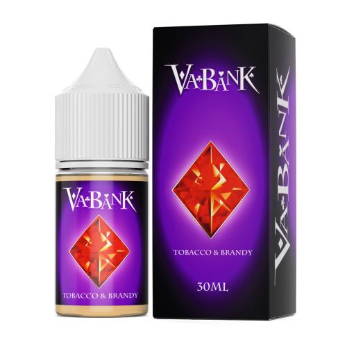 Жидкость VA-BANK - Tobacco & Brandy 30мл/6мг