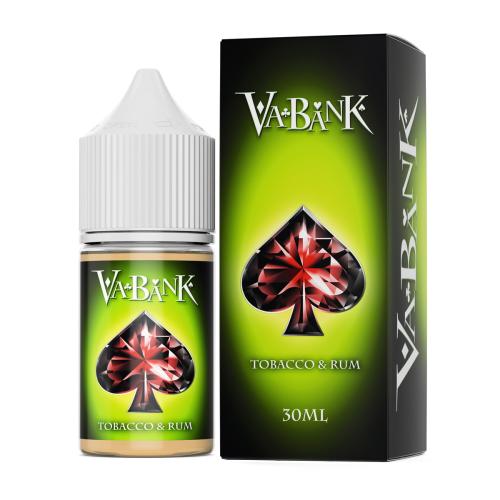 Жидкость VA-BANK - Tobacco & Rum 30мл/6мг