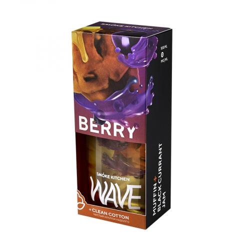 Жидкость Smoke Kitchen WAVE - Berry 100мл/3мг