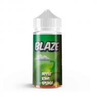 Жидкость BLAZE ''Apple Kiwi Splash'' 100 мл. - Фреш из яблока и киви. Без содержания никотина.  Blaze – жидкости для электронных сигарет от российской компании, создателей популярных жидкостей Taboo. В состав входят зарубежные ароматизаторы, высококачественный глицерин и пропиленгликоль USP.