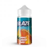 Жидкость BLAZE ''Mango Orange Twist'' 100 мл. - Тропический вихрь из манго и апельсина. Без содержания никотина.  Blaze – жидкости для электронных сигарет от российской компании, создателей популярных жидкостей Taboo. В состав входят зарубежные ароматизаторы, высококачественный глицерин и пропиленгликоль USP.