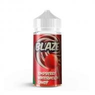 Жидкость BLAZE ''Raspberry Watermelon Candy'' 100 мл. - Леденец со вкусом малины и арбуза. Без содержания никотина.  Blaze – жидкости для электронных сигарет от российской компании, создателей популярных жидкостей Taboo. В состав входят зарубежные ароматизаторы, высококачественный глицерин и пропиленгликоль USP.