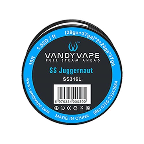 Проволока SS316L, плетеная Vandy Vape Juggernaut