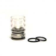 Дрип-тип Tobeco Glass Chuff Enuff V5
