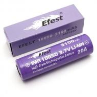 Аккумуляторная батарея  Efest IMR 3100 mAh 20A(18650)