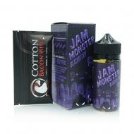Жидкость Jam Monster 100 мл. ''Blackberry'' 3 мг./мл.